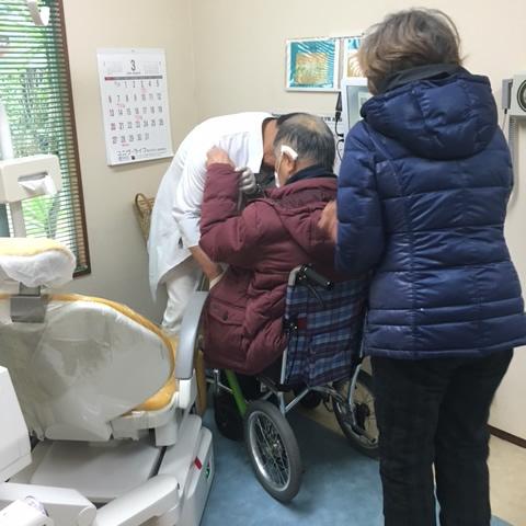 森山歯科医院の無料送迎の流れ写真4