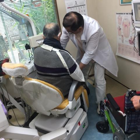 森山歯科医院無料送迎の風景
